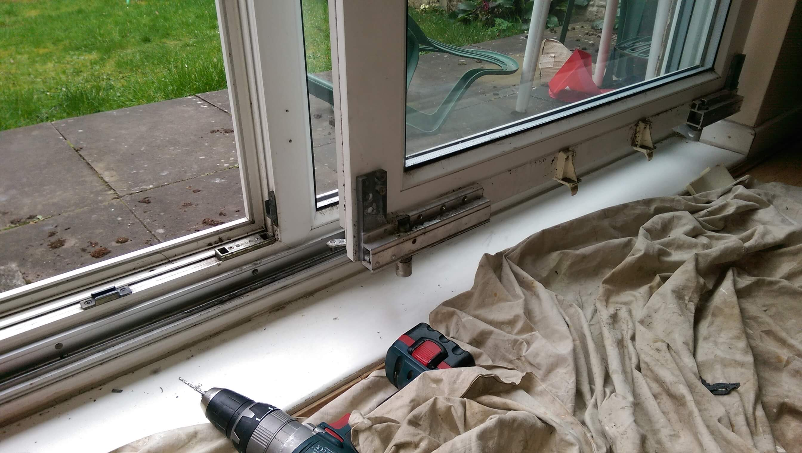 Patio Runners Amp Tracks Replacement In Coventry Window