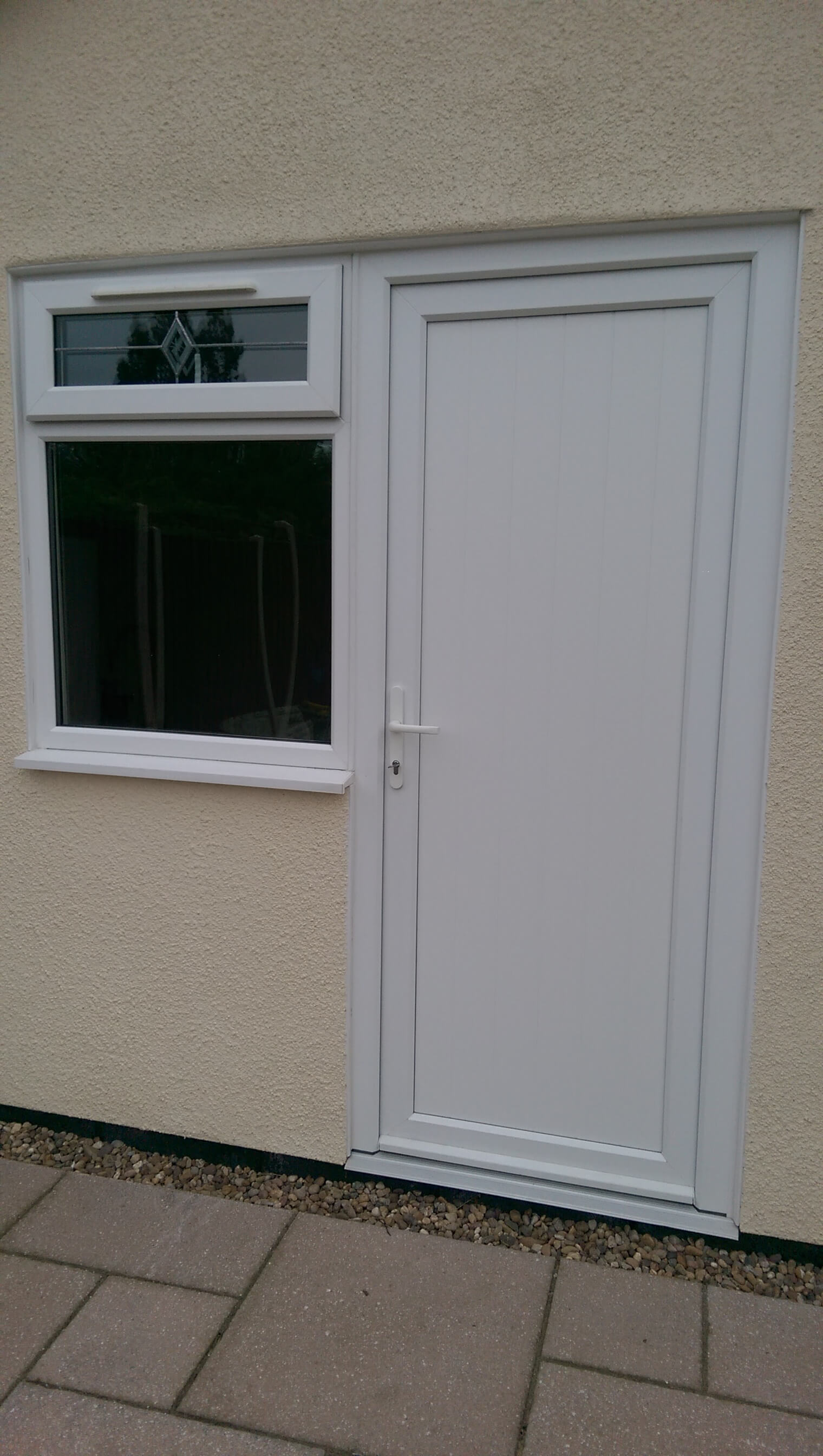 Fitted Upvc Replacement Door Panels Window Hospital Nuneaton